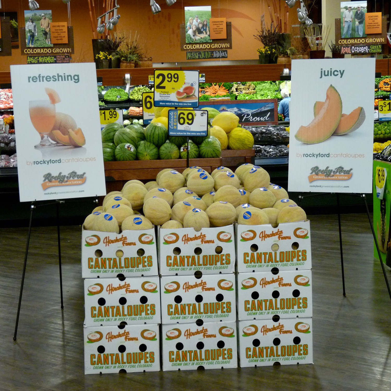 Cantaloupe Grocery