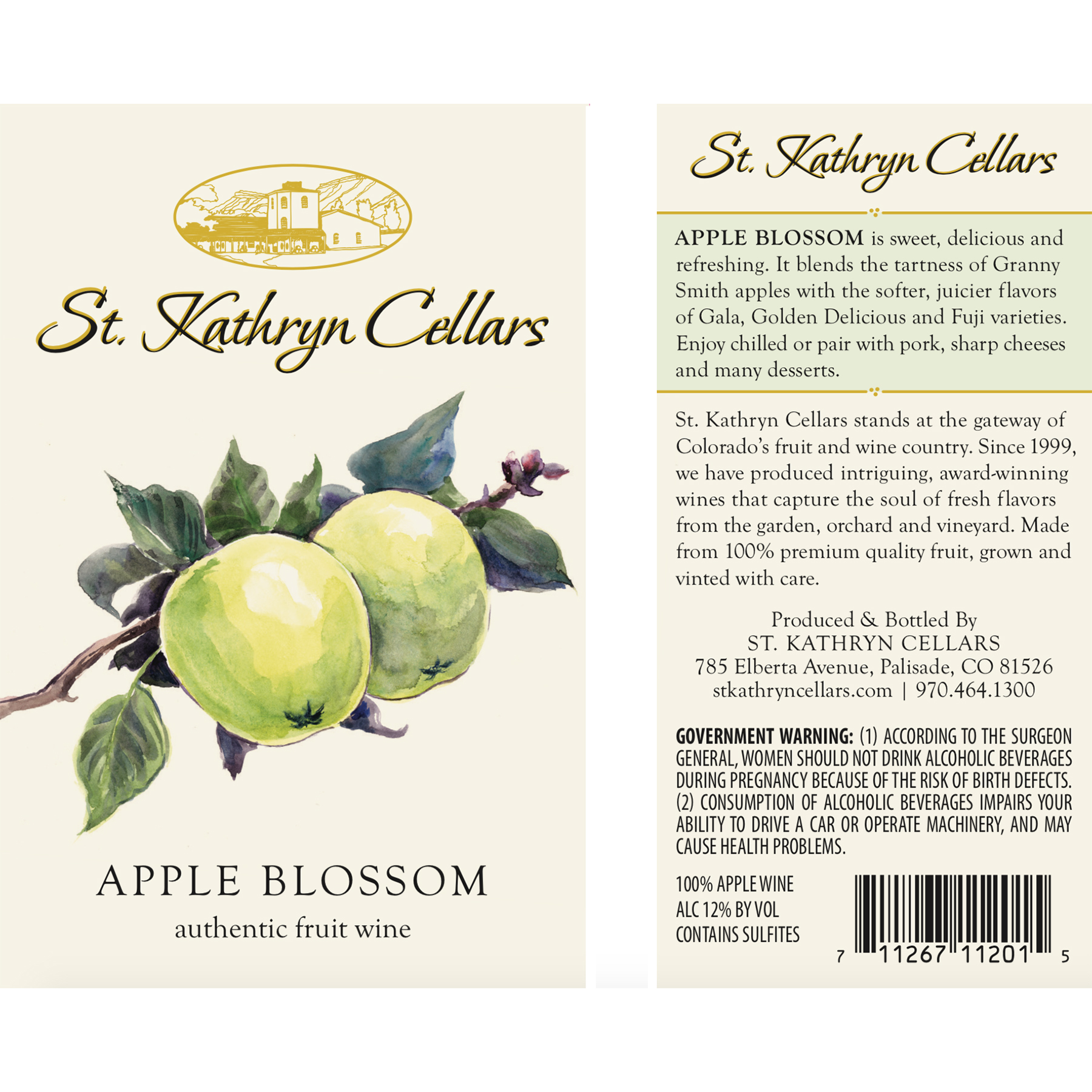 Front and Back Labels